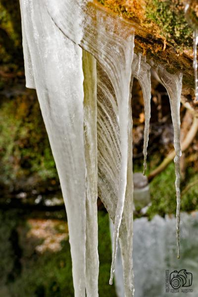 Eiszeit - gedrehtes Eis