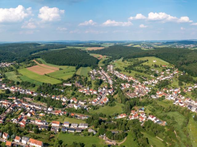 Wustweiler Vogelperspektive 2021 - 01